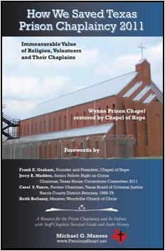 How We Saved Texas Prison Chaplaincy 2011