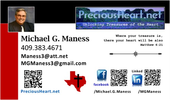Maness Business Card